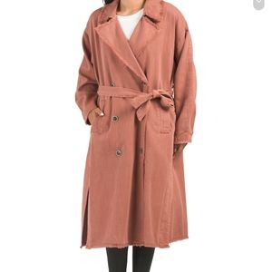 Free People Kelly Trench Coat